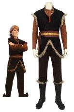 画像1: アナと雪の女王2 クリストフ・ ビョルグマン Frozen II Kristoff Bjorgman ブーツ付き コスプレ衣装 アニメ コスチューム ゲーム cosplay (1)