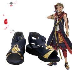 画像12: ツイステッドワンダーランド ツイステ スカラビア寮 ジャミル・バイパー コスプレ衣装 コスチューム cosplay (12)
