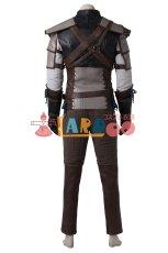 画像3: ウィッチャー3:ワイルドハント リヴィアのゲラルト 主人公 コスプレ衣装 アニメ コスプレ コスチューム ゲーム cosplay (3)