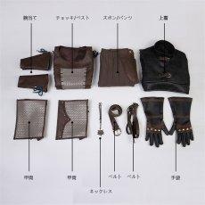 画像4: ウィッチャー3:ワイルドハント リヴィアのゲラルト 主人公 コスプレ衣装 アニメ コスプレ コスチューム ゲーム cosplay (4)