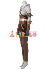 画像2: ウィッチャー3 ワイルドハント シリラ The Witcher 3: Wild Hunt Cirilla コスプレ衣装 アニメ コスプレ コスチューム ゲーム cosplay (2)