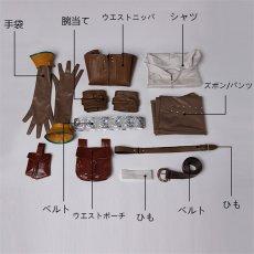 画像5: ウィッチャー3 ワイルドハント シリラ The Witcher 3: Wild Hunt Cirilla コスプレ衣装 アニメ コスプレ コスチューム ゲーム cosplay (5)