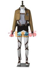 画像3: 進撃の巨人 リヴァイ 調査兵団 マント+ブーツ コスプレ衣装 アニメ コスプレ コスチューム ゲーム cosplay (3)