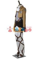画像4: 進撃の巨人 リヴァイ 調査兵団 マント+ブーツ コスプレ衣装 アニメ コスプレ コスチューム ゲーム cosplay (4)