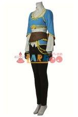 画像2: ゼルダの伝説 ブレス オブ ザ ワイルド ゼルダ姫 コスプレ衣装 アニメ コスプレ コスチューム ゲーム cosplay (2)