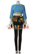画像4: ゼルダの伝説 ブレス オブ ザ ワイルド ゼルダ姫 コスプレ衣装 アニメ コスプレ コスチューム ゲーム cosplay (4)