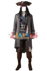 画像1: ジャック スパロウ パイレーツ オブ カリビアン/最後の海賊 コスプレ衣装 cosplay (1)