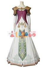 画像2: ゼルダの伝説 トワイライトプリンセス「トワプリ」ゼルダ姫 The Legend of Zelda: Twilight Princess Princess Zelda コスプレ衣装 ゲーム cosplay コスチューム (2)