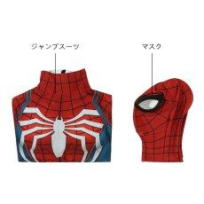 画像6: Spider-Man スパイダーマン PS4 ジャンプスーツコスプレ衣装 コスチューム ゲーム cosplay (6)
