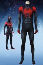 画像1: スパイダーマン: スパイダーバース(原題:Spider-Man: Into the Spider-Verse)マイルズ・モラレス コスプレ衣装 (1)