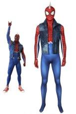 画像1: Spider-Man スパイダーパンク PS4 パンク・ロック PUNK ROCK ジャンプスーツ コスプレ衣装 コスプレ コスチューム ゲーム cosplay (1)