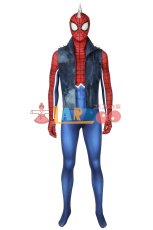 画像2: Spider-Man スパイダーパンク PS4 パンク・ロック PUNK ROCK ジャンプスーツ コスプレ衣装 コスプレ コスチューム ゲーム cosplay (2)