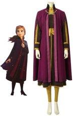 画像1: アナと雪の女王2 アナ Frozen2  Frozen II Anna コスプレ衣装 アニメ コスチューム ゲーム cosplay (1)