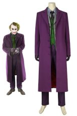 画像1: バットマン ダークナイト ジョーカー Batman The Dark Knight The Joker マスクなし ハロウィン コスプレ衣装 コスチューム cosplay (1)