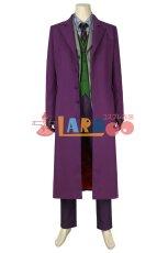 画像2: バットマン ダークナイト ジョーカー Batman The Dark Knight The Joker マスクなし ハロウィン コスプレ衣装 コスチューム cosplay (2)