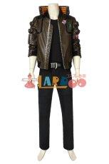 画像2: サイバーパンク2077 ヴィー Cyberpunk 2077 V 男性主人公 コスプレ衣装 コスチューム ゲーム cosplay (2)