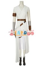 画像2: スター・ウォーズ/ザ・ライズ・オブ・スカイウォーカー レイ Star Wars: The Rise of Skywalker Rey ブーツ付き コスプレ衣装 コスチューム ゲーム cosplay (2)
