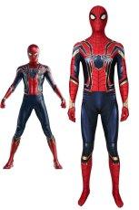 画像1: アベンジャーズ/エンドゲーム アイアンスパイダー ピーター・パーカー Avengers: Endgame Iron Spiderman Peter?Parker コスプレ衣装 コスチューム cosplay (1)