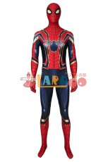 画像2: アベンジャーズ/エンドゲーム アイアンスパイダー ピーター・パーカー Avengers: Endgame Iron Spiderman Peter?Parker コスプレ衣装 コスチューム cosplay (2)