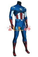 画像3: アベンジャーズ キャプテン アメリカ ジャンプスーツ The Avengers Captain America Zentai Jumpsuit Bodysuit コスプレ衣装  映画 コスチューム cosplay (3)