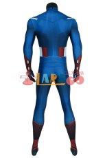 画像5: アベンジャーズ キャプテン アメリカ ジャンプスーツ The Avengers Captain America Zentai Jumpsuit Bodysuit コスプレ衣装  映画 コスチューム cosplay (5)