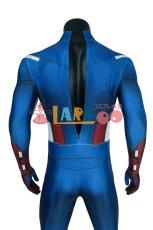 画像6: アベンジャーズ キャプテン アメリカ ジャンプスーツ The Avengers Captain America Zentai Jumpsuit Bodysuit コスプレ衣装  映画 コスチューム cosplay (6)