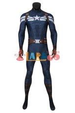 画像2: キャプテン・アメリカ/ウィンター・ソルジャー スティーブ・ロジャース/キャプテン・アメリカ ジャンプスーツ コスプレ衣装  映画 コスチューム cosplay (2)