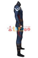 画像4: キャプテン・アメリカ/ウィンター・ソルジャー スティーブ・ロジャース/キャプテン・アメリカ ジャンプスーツ コスプレ衣装  映画 コスチューム cosplay (4)