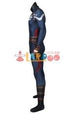 画像5: キャプテン・アメリカ/ウィンター・ソルジャー スティーブ・ロジャース/キャプテン・アメリカ ジャンプスーツ コスプレ衣装  映画 コスチューム cosplay (5)
