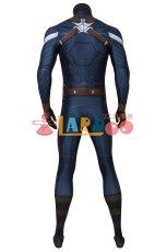 画像6: キャプテン・アメリカ/ウィンター・ソルジャー スティーブ・ロジャース/キャプテン・アメリカ ジャンプスーツ コスプレ衣装  映画 コスチューム cosplay (6)