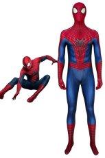 画像1: アメイジング・スパイダーマン2 ピーター・パーカー The Amazing Spider-Man 2 PeterParker ジャンプスーツ コスプレ衣装 ハロウィン コスチューム cosplay (1)