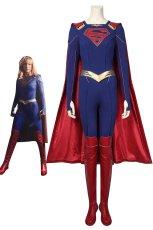 画像1: スーパーガール カーラ・ゾーエル Supergirl  Kara Zor-El ブーツ付き コスプレ衣装 (1)
