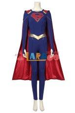 画像3: スーパーガール カーラ・ゾーエル Supergirl  Kara Zor-El ブーツ付き コスプレ衣装 (3)
