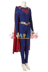 画像4: スーパーガール カーラ・ゾーエル Supergirl  Kara Zor-El ブーツ付き コスプレ衣装 (4)