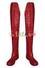 画像8: スーパーガール カーラ・ゾーエル Supergirl  Kara Zor-El ブーツ付き コスプレ衣装 (8)