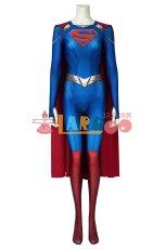 画像2: スーパーガール シーズン5 カーラ・ゾーエル ジャンプスーツ Supergirl Season 5 Kara Zor-el Zentai Jumpsuit Bodysuit 3D Print ジャンプスーツ コスプレ衣装 (2)