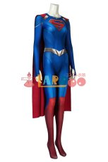 画像3: スーパーガール シーズン5 カーラ・ゾーエル ジャンプスーツ Supergirl Season 5 Kara Zor-el Zentai Jumpsuit Bodysuit 3D Print ジャンプスーツ コスプレ衣装 (3)