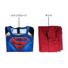 画像8: スーパーガール シーズン5 カーラ・ゾーエル ジャンプスーツ Supergirl Season 5 Kara Zor-el Zentai Jumpsuit Bodysuit 3D Print コスプレ衣装 (8)