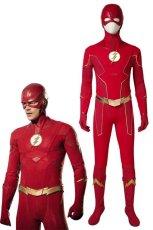 画像1: フラッシュ シーズン6 バリー・アレン The Flash Season 6 Barry Allen ブーツ付き コスプレ衣装 コスチューム cosplay (1)