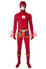 画像2: フラッシュ シーズン6 バリー・アレン The Flash Season 6 Barry Allen ブーツ付き コスプレ衣装 コスチューム cosplay (2)