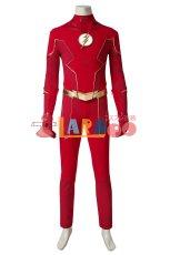 画像4: フラッシュ シーズン6 バリー・アレン The Flash Season 6 Barry Allen ブーツ付き コスプレ衣装 コスチューム cosplay (4)