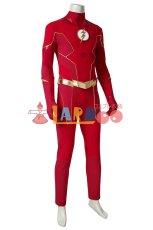 画像5: フラッシュ シーズン6 バリー・アレン The Flash Season 6 Barry Allen ブーツ付き コスプレ衣装 コスチューム cosplay (5)
