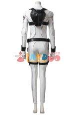 画像4: ブラック・ウィドウ ナターシャ・ロマノフ Black Widow Natasha Romanoff White suit コスプレ衣装  映画 コスチューム cosplay (4)