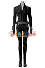 画像1: ブラック・ウィドウ ナターシャ・ロマノフ Black Widow Natasha Romanoff Black suit ブーツ付き コスプレ衣装  映画 コスチューム cosplay (1)
