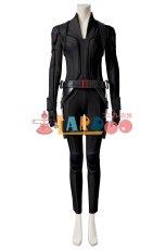 画像2: ブラック・ウィドウ ナターシャ・ロマノフ Black Widow Natasha Romanoff Black suit ブーツ付き コスプレ衣装  映画 コスチューム cosplay (2)
