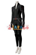 画像3: ブラック・ウィドウ ナターシャ・ロマノフ Black Widow Natasha Romanoff Black suit ブーツ付き コスプレ衣装  映画 コスチューム cosplay (3)