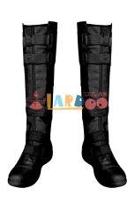 画像7: ブラック・ウィドウ ナターシャ・ロマノフ Black Widow Natasha Romanoff Black suit ブーツ付き コスプレ衣装  映画 コスチューム cosplay (7)