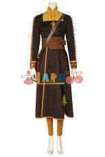 画像7: アナと雪の女王2 アナ Frozen2  Frozen II Anna ブーツ付き コスプレ衣装  コスチューム ゲーム cosplay (7)