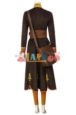 画像8: アナと雪の女王2 アナ Frozen2  Frozen II Anna ブーツ付き コスプレ衣装  コスチューム ゲーム cosplay (8)