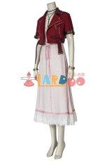 画像2: ファイナルファンタジーVII エアリス・ゲインズブール Final FantasyVII FF7 Aerith Gainsborough コスプレ衣装 コスチューム ゲーム cosplay (2)
